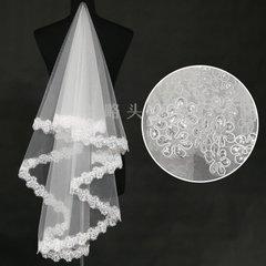 新娘的头纱怎样佩带才显得愈加完美